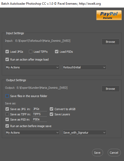 Batch Autoloader for Photoshop CC
